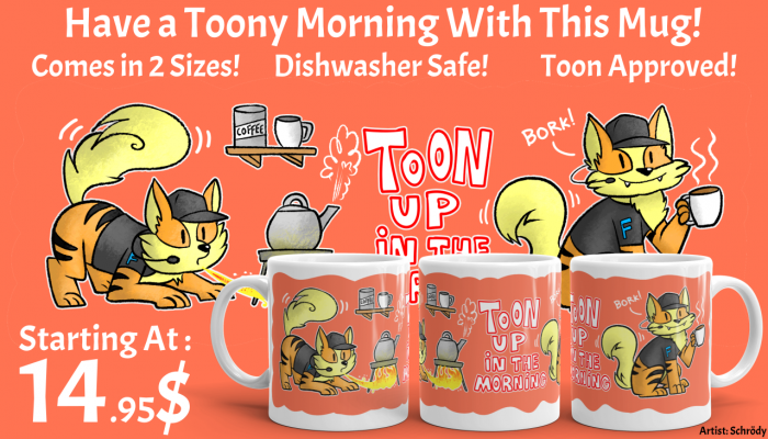 Toon Up in The Morning Mug